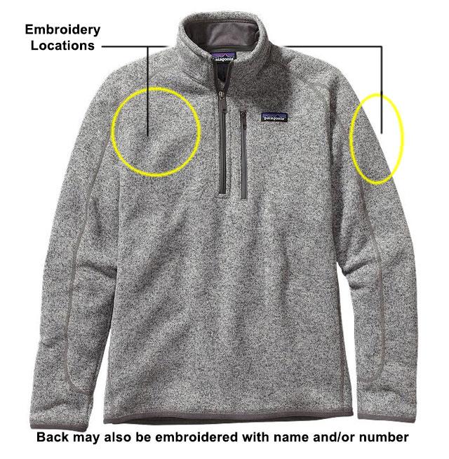 Mens Better Sweater QtrZip stone