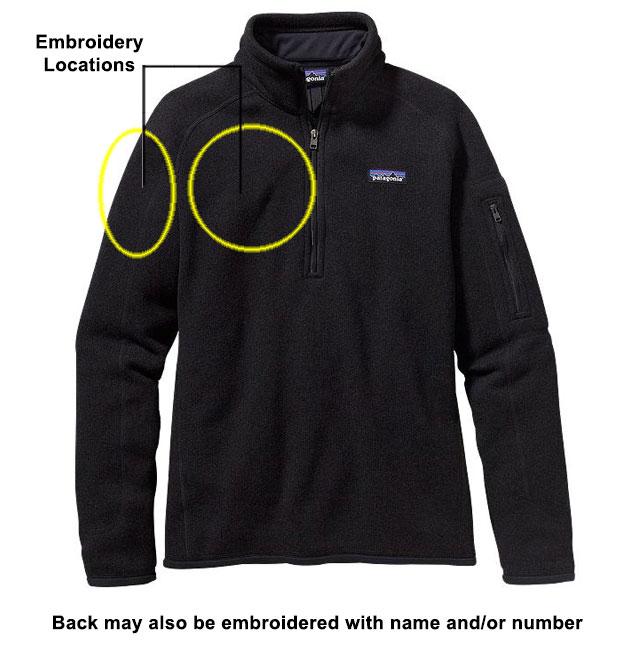 Women's Better Sweater 1/4Zip black