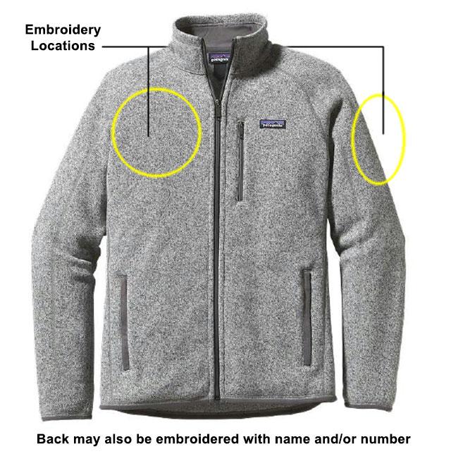 Men's Better Sweater Jacket stone wash