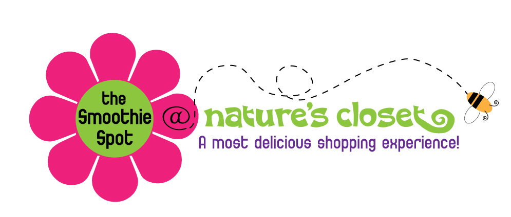 The Smoothie Spot at Nature's Closet Logo