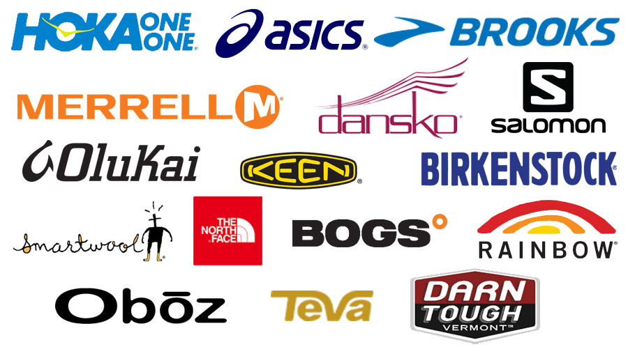 Shoe Den Featured Brands